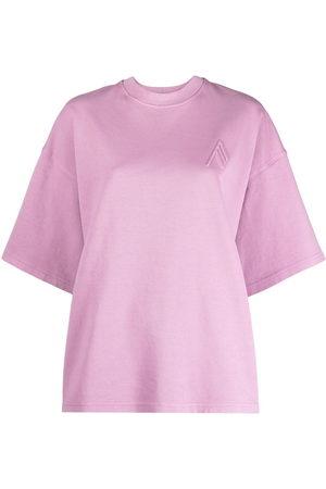 The Attico Round neck short-sleeved T-shirt