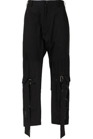 Sulvam Buckle-embellished trousers