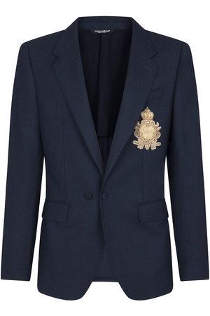 Dolce & Gabbana Logo-badge blazer