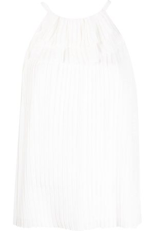 Emporio Armani Halterneck pleated blouse
