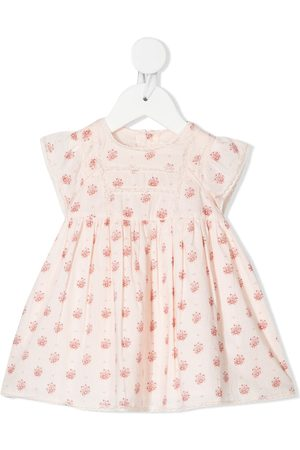 BONPOINT Sweet floral-print cotton dress