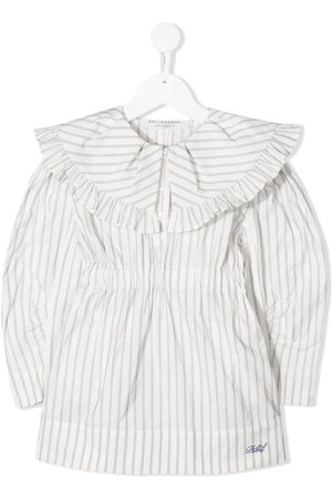 PHILOSOPHY DI LORENZO SERAFINI Pinstripe shirt dress