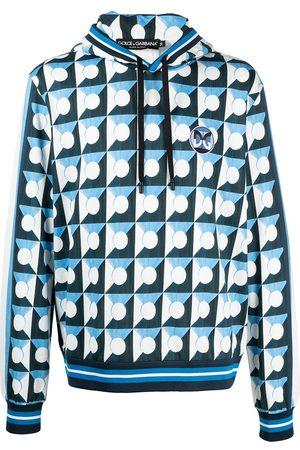 Dolce & Gabbana Geometric pattern-print hoodie