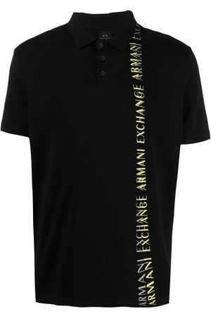 Armani Logo-print short-sleeve polo shirt