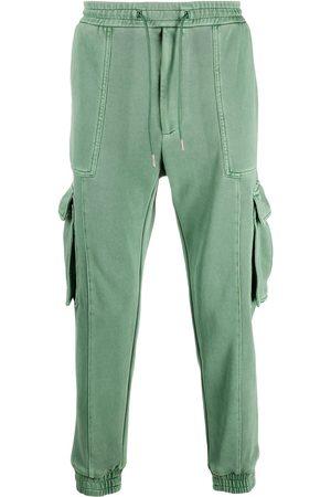 JUUN.J Cotton side pocket detail track pants