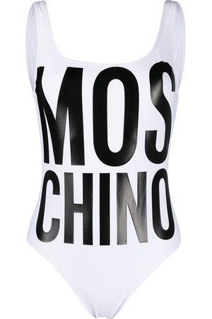 Moschino Logo-print swimsuit