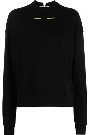 PROENZA SCHOULER WHITE LABEL Logo-print sweatshirt