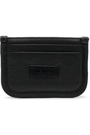 Kenzo Curved-edge leather cardholder