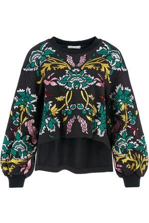 ALICE+OLIVIA Gaia puff sleeve sweatshirt