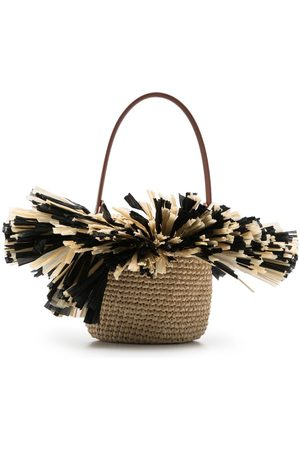 Gatti Lily top-handle tote - Neutrals