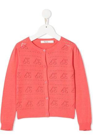 BONPOINT Ajoure perforated knitted cardigan