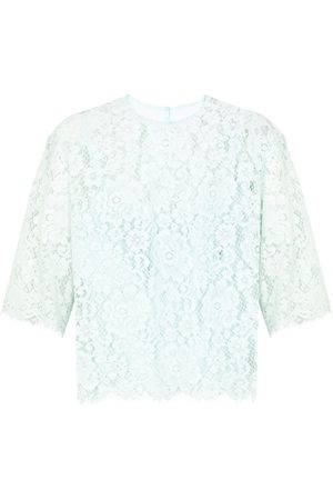 Dolce & Gabbana Sheer embroidered blouse