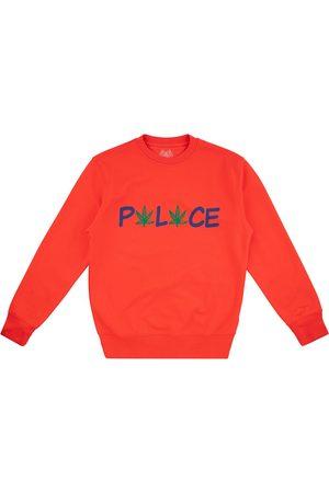 PALACE Pwlwce crew-neck sweatshirt