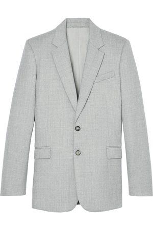 WARDROBE.NYC Single-breasted merino wool blazer - Grey