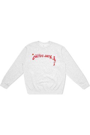 Travis Scott Astroworld X McDonald's Cactus Jack Spelling sweatshirt - Grey