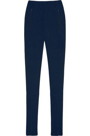 WARDROBE.NYC Front ankle-zip leggings