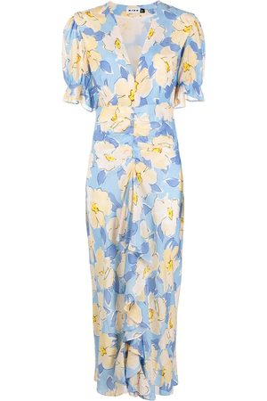 RIXO London Ariel azelea bloom-print dress