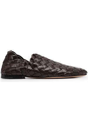 Bottega Veneta Men Loafers - Flat Intrecciato loafers