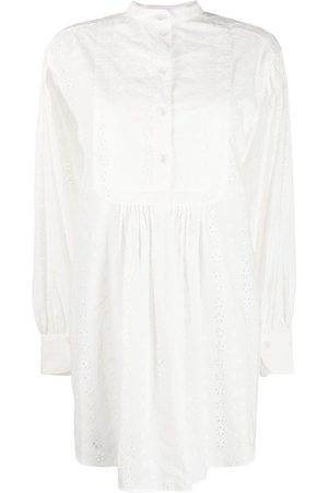 See by Chloé Broderie anglaise shirtdress