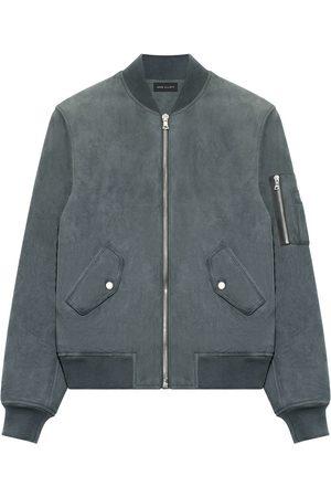 JOHN ELLIOTT Bogota zipped bomber jacket - Grey