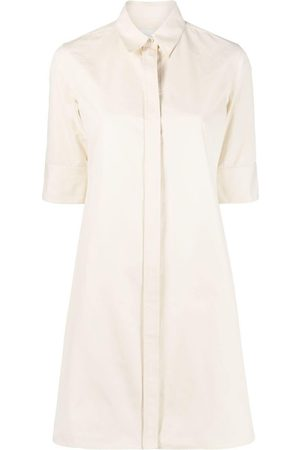 Jil Sander Short-sleeve poplin shirt - Neutrals