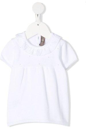 LITTLE BEAR Short-sleeved knitted dress