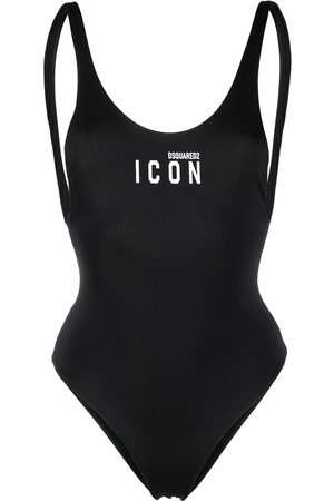 Dsquared2 Logo-print one-piece swimsuit