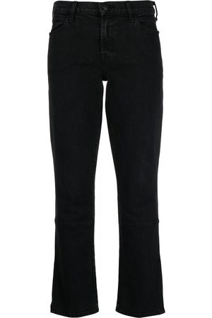 J Brand Panelled crop jeans