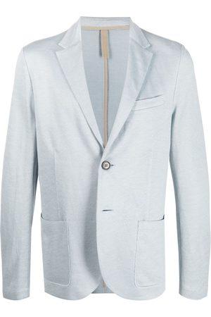 Harris Wharf London Single-breasted linen blazer