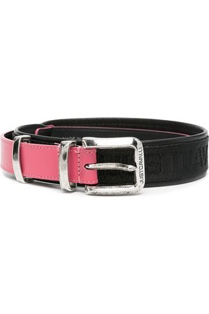 Roberto Cavalli Canvas-trimmed belt