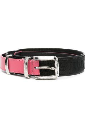 Roberto Cavalli Women Belts - Canvas-trimmed belt