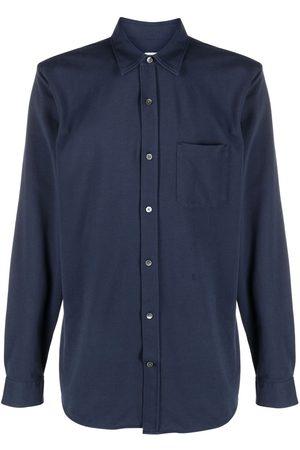 Closed Patch-pocket long-sleeve shirt