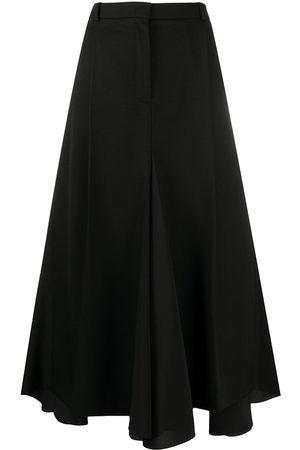 Nina Ricci High-waisted godet skirt