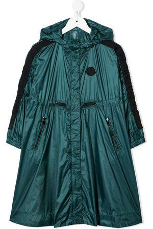 Moncler Logo-patch rain coat