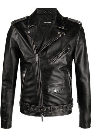Dsquared2 Men Leather Jackets - X Ibrahimović Icon leather jacket