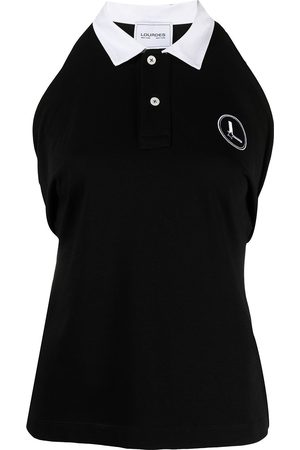 Lourdes Rear-tie polo shirt
