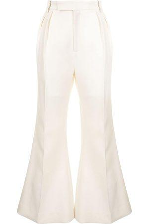 Khaite Hattie flare-leg trousers