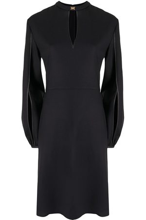 Bally Keyhole-detail dress