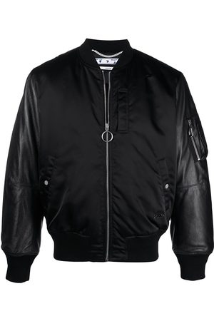 OFF-WHITE Arrows logo bomber jacket