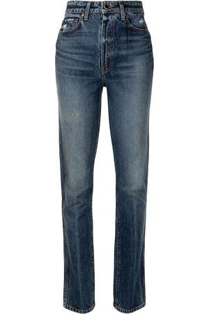 Khaite Daria high-rise slim-fit jeans