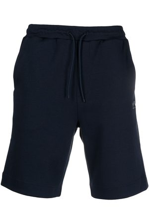 HUGO BOSS Logo-embroidered track shorts