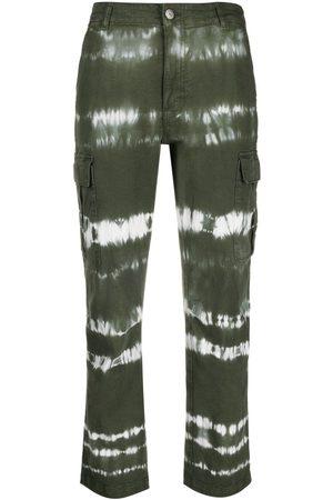 P.a.r.o.s.h. Tie-dye cargo jeans