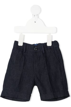 FAY KIDS Pressed-crease tailored shorts