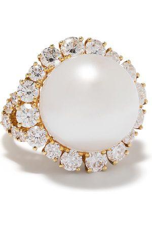 Yoko London Women Rings - 18kt gold Aurelia South Sea pearl and diamond ring