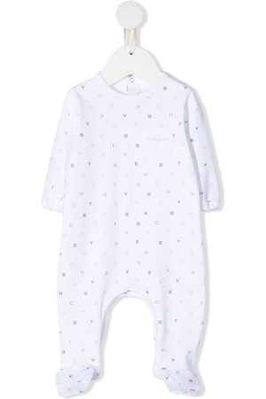 Givenchy All-over logo print romper