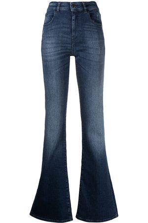 Emporio Armani Mid-rise bootcut jeans