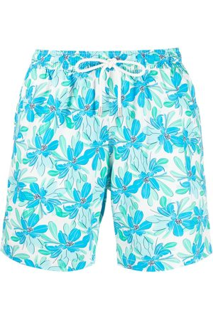 BLUEMINT Floral-print drawstring swim shorts