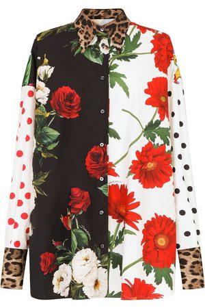 Dolce & Gabbana Mix-print shirt