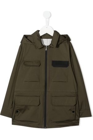 Moncler Multi-pocket raincoat