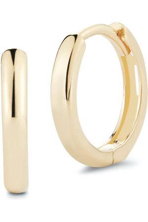 Mateo 14kt yellow small hoop earrings